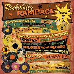 Various Artists - Vol. 2-Rockabilly Rampage [New Vinyl LP] UK - Import