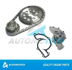 Timing Chain Kit & Water Pump For Chevrolet Lumina Impala Camaro 3.8L