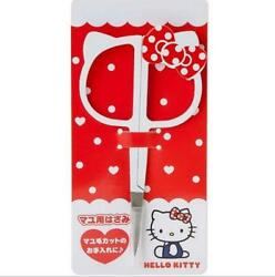1pcs Hello Kitty Bow Stainless Steel Makeup Beauty Cosmetic Eyebrow Scissors
