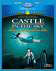 Castle in the Sky Studio Ghibli (Two-Disc Blu-rayDVD Combo) NEW Free Shipping