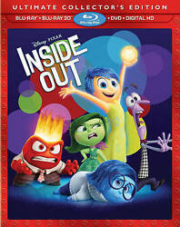 Inside Out (Ultimate Collector's Edition) 2015 Includes Slip Cover NEW Sealed  $18.50