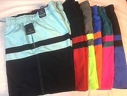 Men's GEORGE - Swim Trunks - You Pick - All Guy Colorblock Short Swimming NWT