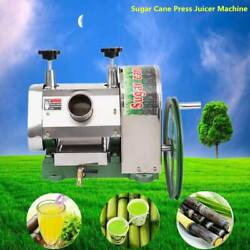 Commercial Manual Sugar Cane Press Juicer Juice Machine Extractor Mill 50kgh