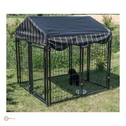 Outdoor Pet Kennel For Medium Dogs Exotic Cage Gazebo Best Dog Crate Welded Wire