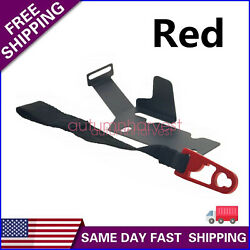 For 2009-18 Ford SuperCrew F-150 F-250F-350 Rear Seat Release Kit red Strap