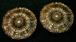Extra Large Pair Sheryle Wagner or Guerin HOLLYWOOD Door Knobs 7