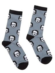 Edgar Allan Poe socks Large: Socks $11.97