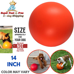 Ball For Dog Ball Energetic Herding Fun Play Pet Supplies Indestructible Toy 14quot;