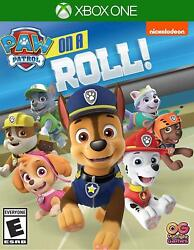 PAW Patrol: On a Roll Microsoft Xbox One Nickelodeon Adventure Puppies NEW $49.08