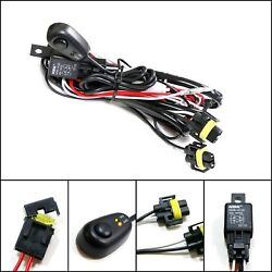 Winjet Universal Wiring Harness Include Switch Kit Car Auto Fog Lights Lamp...  $11.20