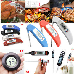 Instant Read Digital LCD Food Thermometer Indoor Outdoor Cooking Meat Turkey BBQ