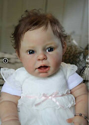 D804 Lovely Reborn Baby Girl Doll Child Friendly H 22 inch Tailor Made