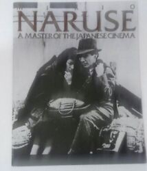 Mikio Naruse : A Master of Japanese Cinema Audie Bock Rare ISBN 0865590672 1974