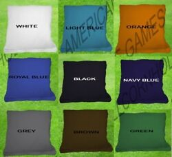 8-Quality-Cornhole-Bean-bags-All-Weather-Corn-Hole-Bags-Free-Bag-Carry-Pack! $17.95