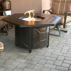 AZ Patio Heaters Aluminum Propane Gas Fire Pit Table PZA10004
