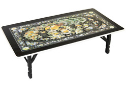 Phoenix Design Mother of Pearl Artificial Nacre Table MADE IN KOREA $109.99