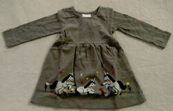 NWT Hanna Andersson Unicorn Applique Art Girls Dress $23.99