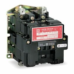 Square D Lighting Magnetic Contactor 120VAC Coil Volts Contactor Type:
