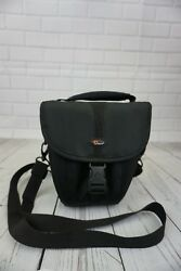 Camera Bag Lowepro Brand Rezo Color Black Small 105 Mirrorless Point and Shoot $9.99