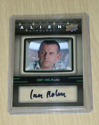 2016 Upper Deck UD Alien Anthology autograph Ian Holm as ASH SA-IH
