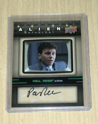 2016 Upper Deck UD Alien Anthology autograph Paul Reiser as BURKE SA-PR