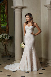 WTOO BY WATTERS ISADORA WEDDING GOWN - IN GREAT SHAPE - RETAILS FOR $1708 $350.00