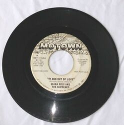 VERY RARE DIANA ROSS THE SUPREMES AUDITION COPY PROMO MOTOWN In and Out of Love