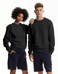 Champion Sweatshirt Fleece Men#x27;s Crewneck Powerblend Sweats Pullover Authentic $17.94
