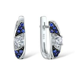 Distant North Star CZ 925 Sterling Silver Stud Earrings S01
