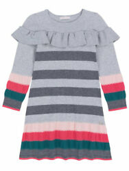 Deux Par Deux Unicorns Are Real Striped Knit Girls Dress Sizes 4 12 NWT $23.10