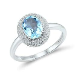 King Royal Sky Blue Crown 925 Sterling Silver Fashion Ring S01