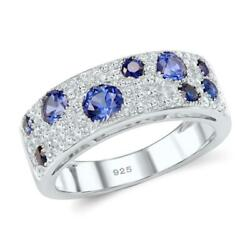 Fairy Gemstone Path CZ 925 Sterling Silver Finger Ring S01