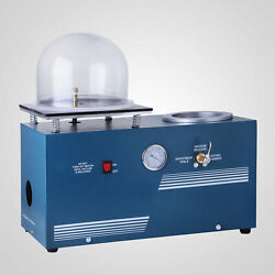 2L Jewelry Lost Wax Cast Combination Vacuum Investing Casting Investment Machine