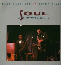 HANK CRAWFORD & JIMMY MCGRIFF SOUL BROTHERS Vinyl  LP L3.79