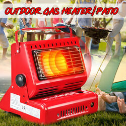 Portable Outdoor Gas Heater Grill Barbecue Camping Hike Fishing Butane  CA