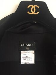 Chanel Black Silk Vintage blouse size 42 Excellent condition!