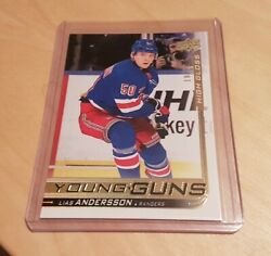 2018-19 UPPER DECK HOCKEY SERIES 2  YOUNG GUNS HIGH GLOSS SSP LIAS ANDERSSON RC