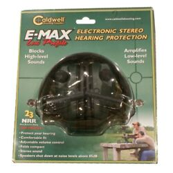Hearing Protection Caldwell 487557 EMAX Low Profile Electronic Ear Muffs $28.99