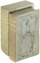 George Moore  Confessions of a Young Man Signed 1st Edition 1888 1888