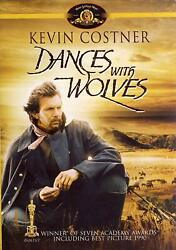 Dances with Wolves (DVD 2004 Kevin Costner) New
