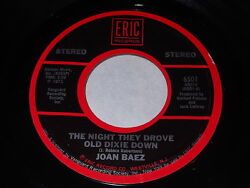 Joan Baez: The Night They Drove Old Dixie Down  There But For Fortune 45