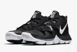 NEW Sz 13 Men's Nike Kyrie 5 Black Magic Basketball Shoe Multi Color AO2918-901