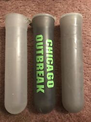 USED Multi 140 Round Paintball Pods Tubes - 3 Pack - Multi Colored ~Free Ship!~