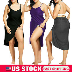 Women Plus Size Swimwear Scarf Beach Cover Up Wrap Sarong Sling Skirt Maxi Dress $11.27
