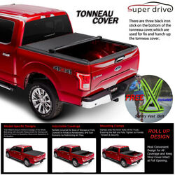 Fits 2005-2015 Toyota Tacoma Lock Soft Roll Up Tonneau Cover 5ft Short Bed