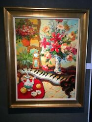 Melody of Music - Oil Painting by Johnson