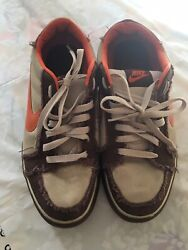 Men Shoes Nike Size 10 US 42 EU Sneakers Leather Canvas Fringed Made in Thailand $38.25