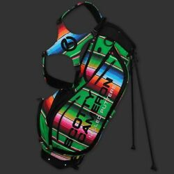 New Scotty Cameron Cinco De Mayo Mexican Blanket Circle T Stand Bag Freeshipping