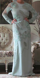 EMILIO PUCCI Runway EmbellishedLace PartsLong dress It 44US 8-10UK 12M-L