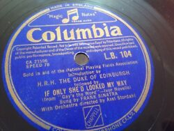 FRANK SINATRA IF ONLY SHE LOOKED MY WAY & LONDON BY NIGHT COLUMBIA LB104